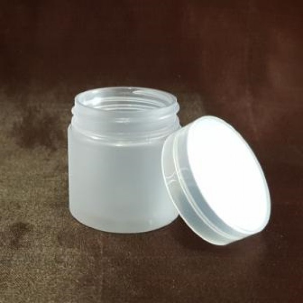 Borcan frosted din plastic, 30 ml