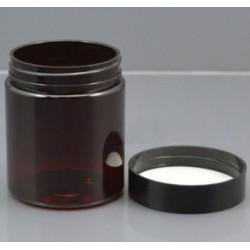 Borcan ambra din plastic, 80 ml