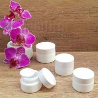 Borcan alb ceramic