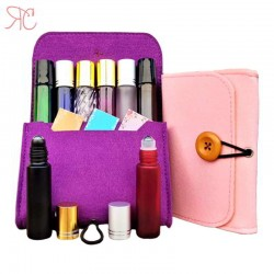 Essential oil bottles small purse (organizer)