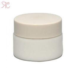 White ceramics jar, 15ml