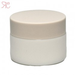 White ceramics jar, 30ml