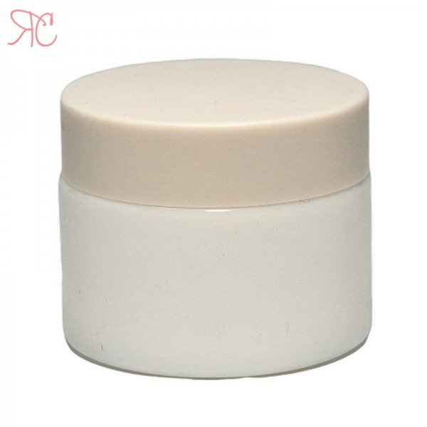 White ceramics jar, 50ml