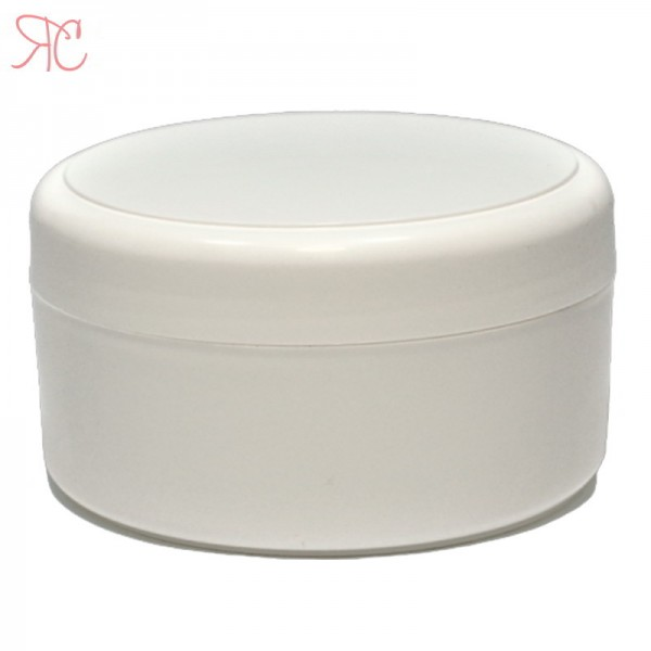 White plastic jar, 200 ml