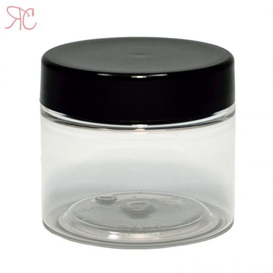 Cutie transparenta inalta, 50 ml