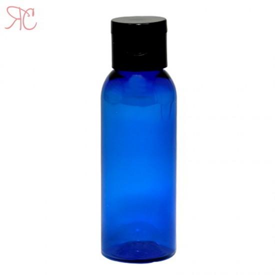 Flacon albastru, capac flip-top, 50 ml