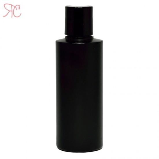 Flacon negru, capac disc-top, 150 ml