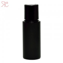 Flacon negru, capac disc-top, 50 ml