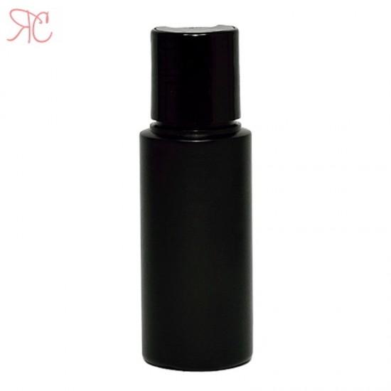 Flacon negru, capac disc-top, 50 ml