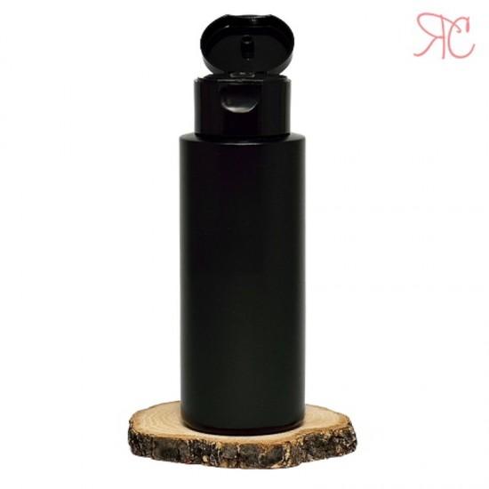 Flacon negru, capac flip-top, 150 ml