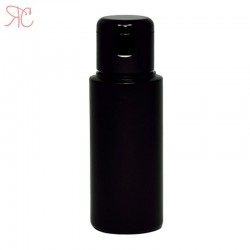 Flacon negru, capac flip-top, 50 ml