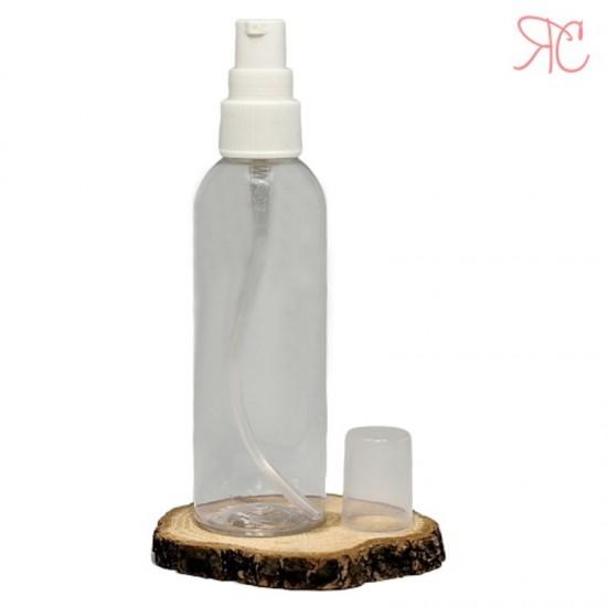 Flacon transparent pentru lotiuni lejere, 100 ml