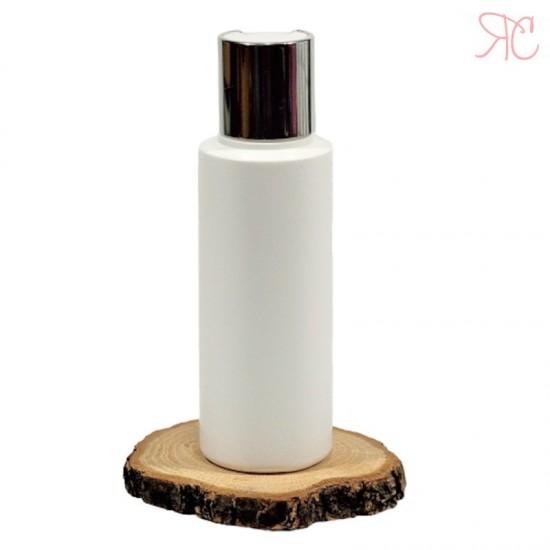 Flacon alb, capac disc-top, 100 ml
