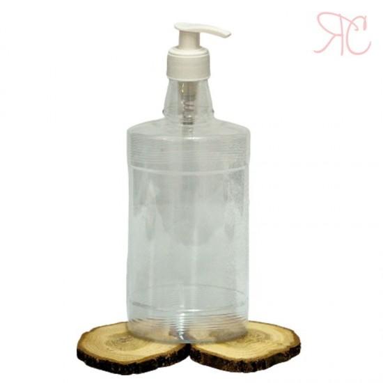Flacon transparent cu pompa dozatoare, 500 ml