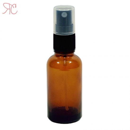 Sticla ambra cu atomizor, 30 ml