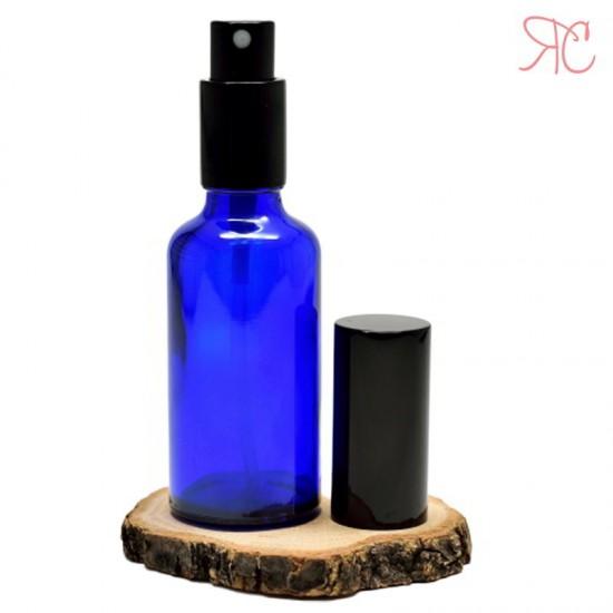 Sticla albastra cu pompa pulverizatoare Black, 100 ml