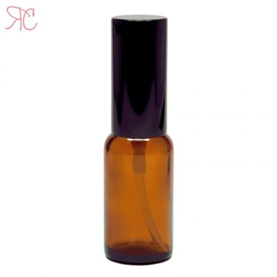 Sticla ambra cu pompa pulverizatoare Black, 20 ml