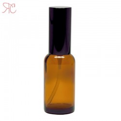 Amber glass bottle with perfume spray, 30 ml