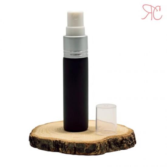 Recipient din sticla neagra cu pompa pulverizatoare, 10 ml