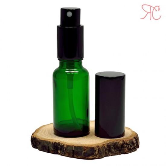 Sticla verde cu pompa pulverizatoare Black, 20 ml