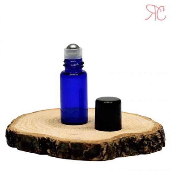 Recipient roll-on albastru, 3 ml