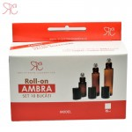 Set recipient roll-on ambra, 15 ml (10 bucati)
