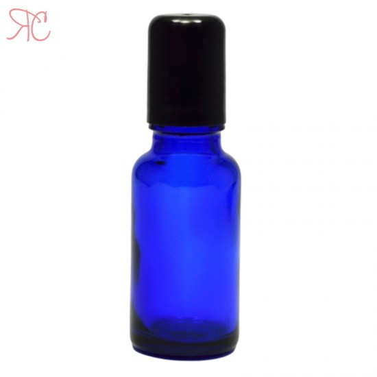 Sticla albastra cu roll-on, 20 ml