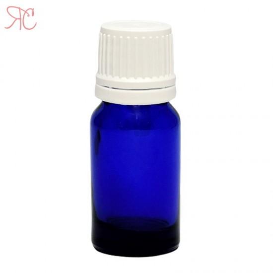 Sticla albastra cu picurator, 10 ml