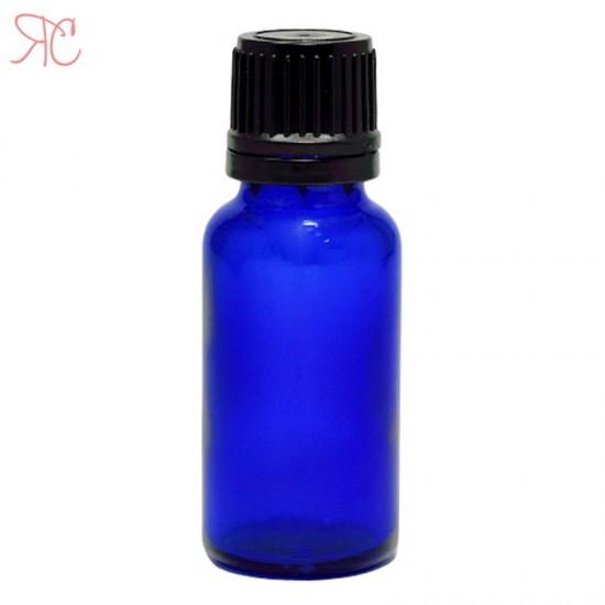 Sticla albastra cu picurator, 20 ml