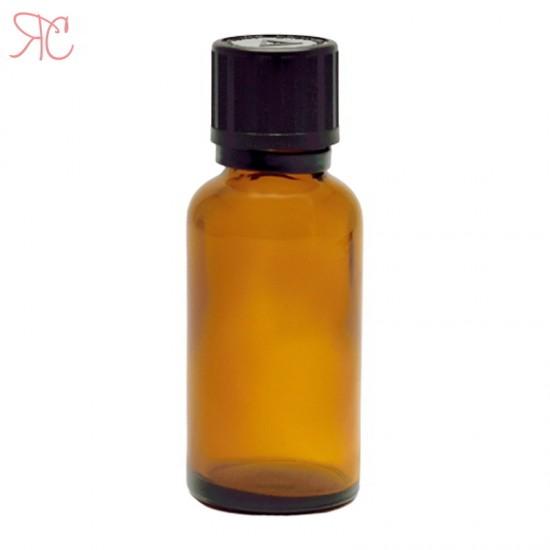 Sticla ambra, capac childproof, 30 ml
