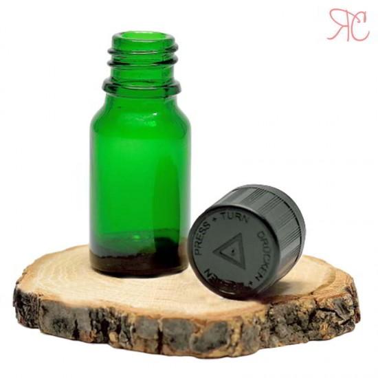 Sticla verde, capac childproof, 10 ml