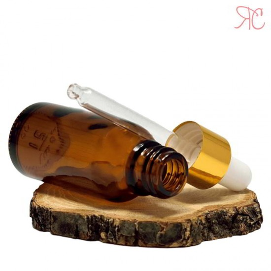 Sticla ambra cu pipeta, 20 ml