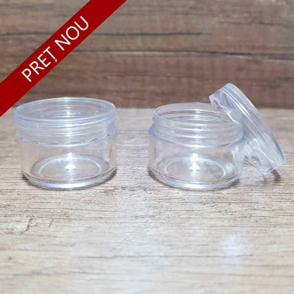 Recipient din plastic, 5 ml