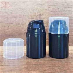 Flacon airless negru, 50 ml