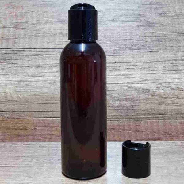 Flacon ambra, capac disc-top, 150 ml