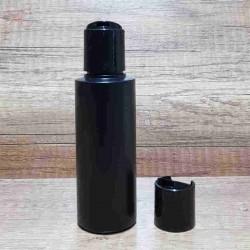 Flacon negru, capac disc-top, 100 ml