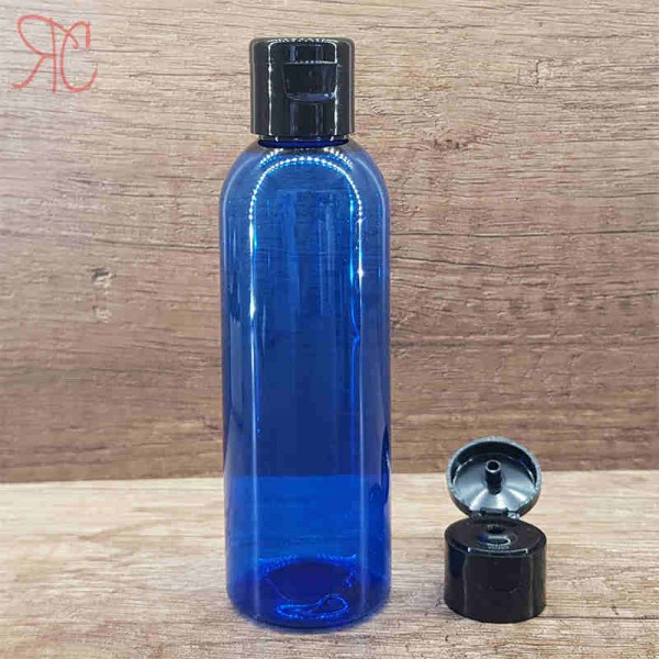 Flacon albastru, capac flip-top, 100 ml