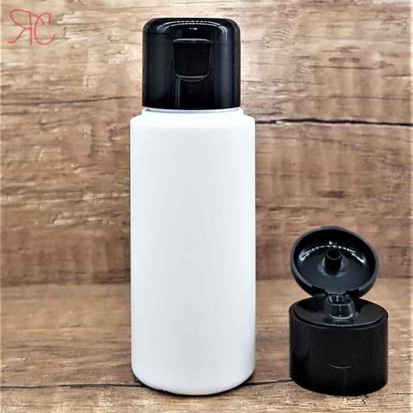 Flacon alb, capac flip-top, 50 ml