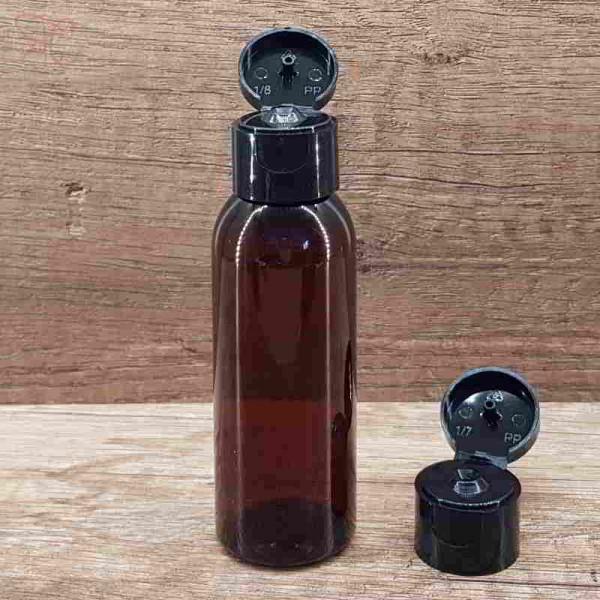 Flacon ambra, capac flip-top, 50 ml