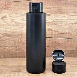 Flacon negru, capac flip-top, 250 ml