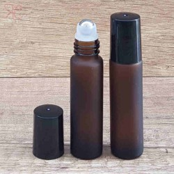 Recipient roll-on frosted ambra, 10 ml