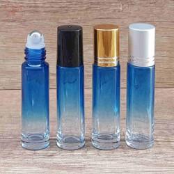 Recipient roll-on albastru in degrade, 10 ml