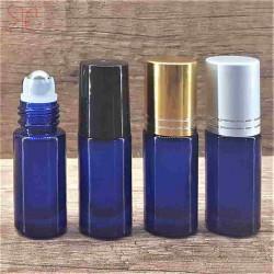 Recipient roll-on albastru, 5 ml