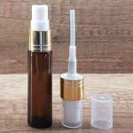 Sticla ambra de parfum cu pulverizator, 10 ml