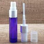 Sticla violet de parfum cu pulverizator, 10 ml