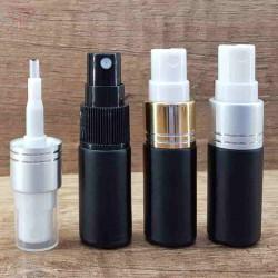 Sticla neagra de parfum cu pulverizator, 5 ml