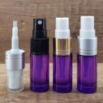 Sticla violet de parfum cu pulverizator, 5 ml