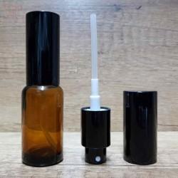 Sticla ambra de parfum cu pulverizator, 20 ml