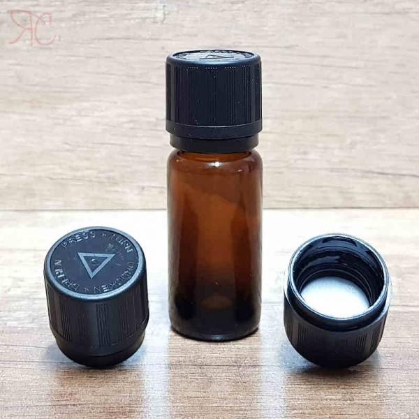 Sticla ambra, capac childproof, 10 ml