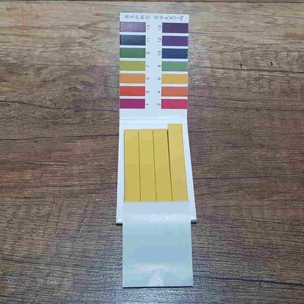 Kit hartie indicator pH 1-14